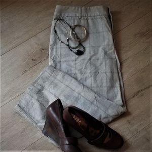 Dockers Woman - Plaid capri pants! NWOT